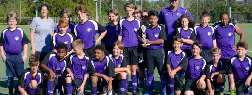 MS Soccer 2nd place win